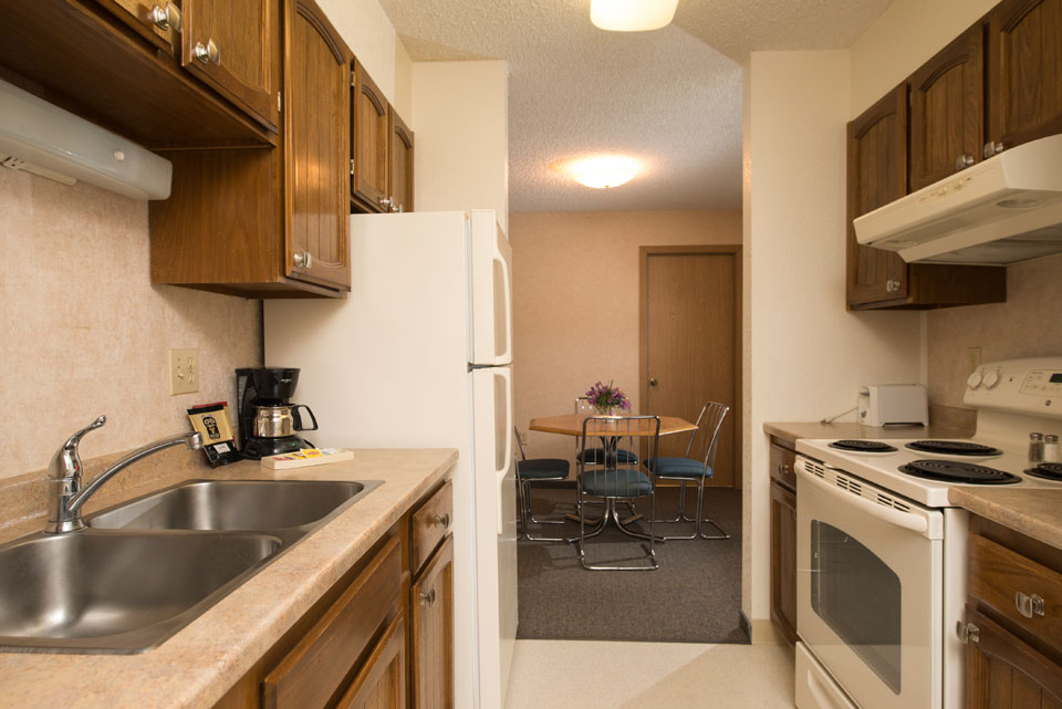 1 Bedroom - Kitchen to Dining