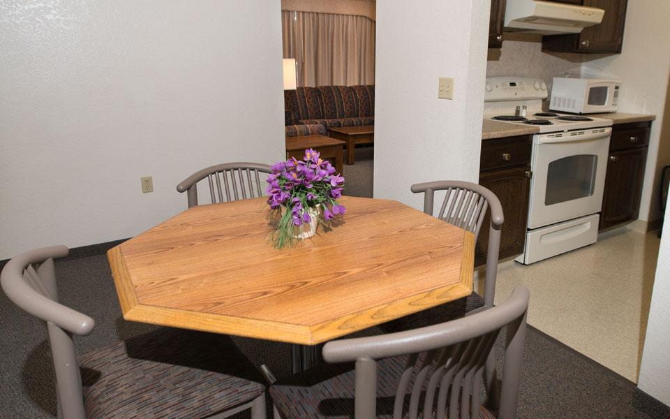 2 Bedroom Kitchen-Dining-Living Room